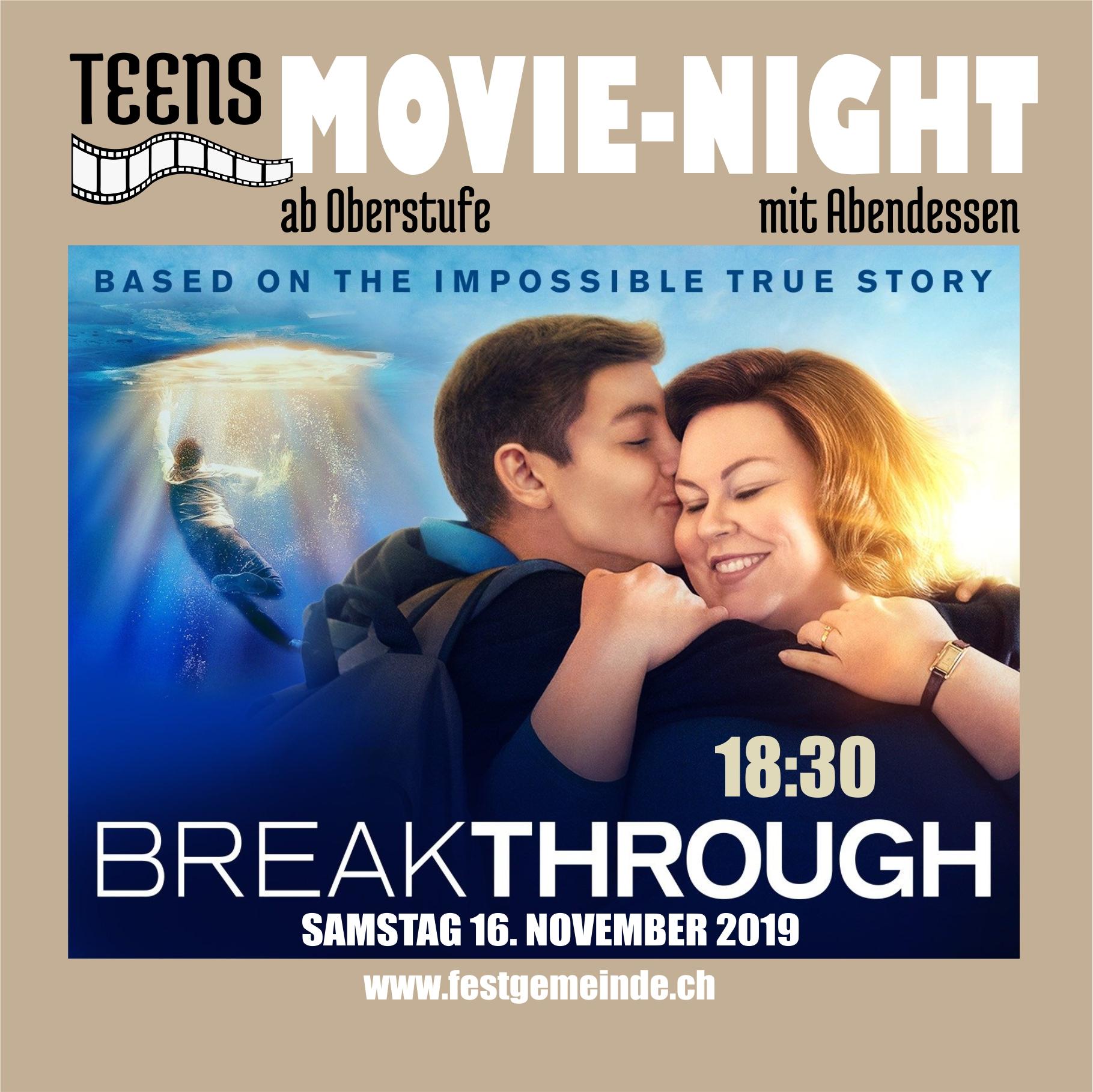 Teens Movie Night